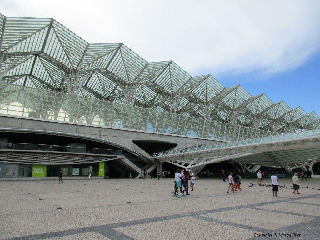Estación Oriente de Lisboa - Los viajes de Margalliver